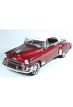 Motormax 1:18 1950 Chevy Bel Air Kırmızı Diecast Model Araba