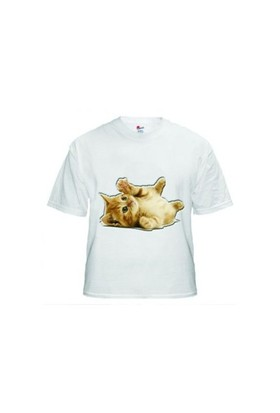 Bitmeyen Kartuş Sublimasyon Düz Beyaz Tshirt