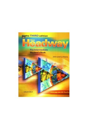 New Headway English Course: Pre-Intermediate Third Edition Student Book + Workbook