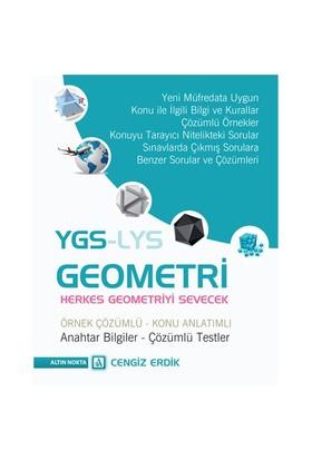 Altın Nokta Ygs Geometri Örnek Çözümlü Konu Açıklamalı-Cengiz Erdik