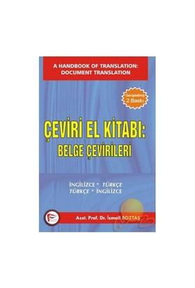 Çeviri El Kitabı: Belge Çevirileri