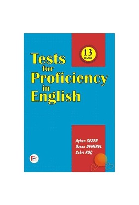 Test For Proficiency In English