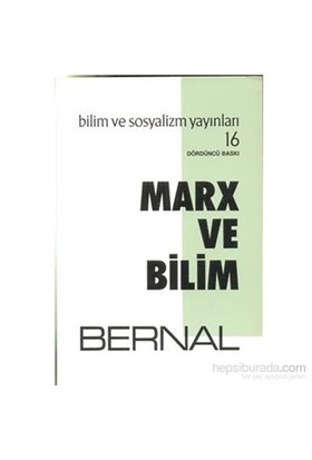 Marx Ve Bilim-J. D. Bernal