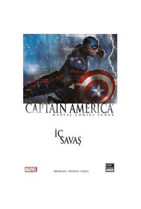 Captian America İç Savaş Türkçe Çizgi Roman - Ed Brubaker
