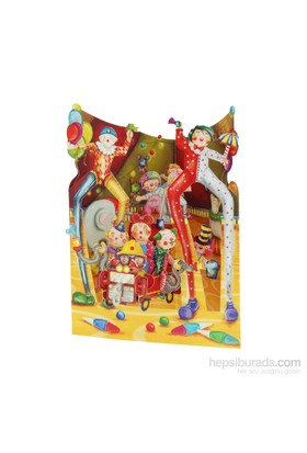 Santoro Gc-Swıng Cards-Bıg Top Clowns Santorosc153