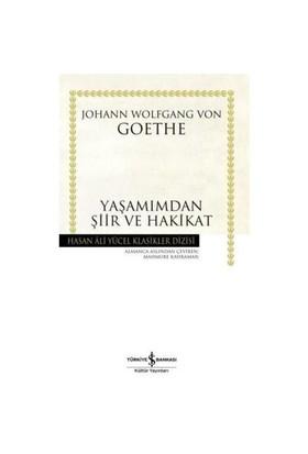 Yaşamımdan Şiir Ve Hakikat - Johann Wolfgang von Goethe
