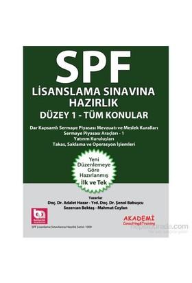 Spf Lisanslama Sınavlarına Hazırlık Düzey-1 Tüm Konular-Şenol Babuşcu