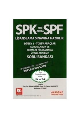 Spf Düzey 3 Türev Araçlar Kurumlarda Ve Sermaye Piyasasında Vergilendirme Soru Bankası-Şenol Babuşçu