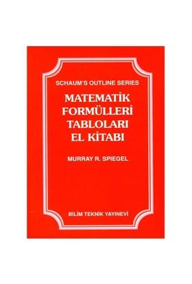 Matematik Formülleri Tabloları El Kitabı - Murray R. Spiegel