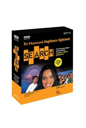 Bbc Active Search (5 Kitap + 6 Dvd + 4 Audıo Cd)