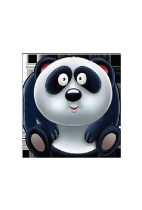 Sevimli Hayvanlar Çıkartmalı Boyama: Panda-Kolektif