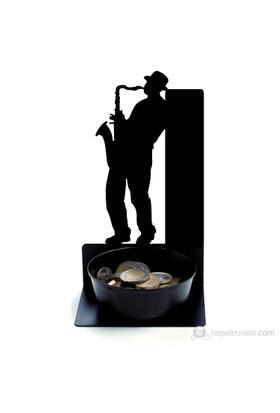 Innobees Masa Üstü Bozuk Para Çanağı Sokak Çalgıcısı