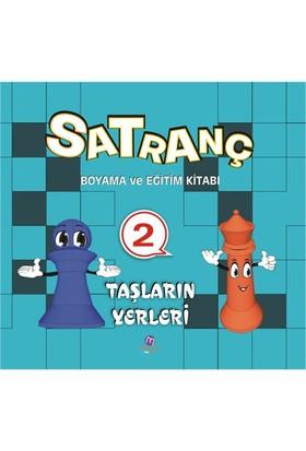 Satranç Boyama Kitabı 2-Kolektif