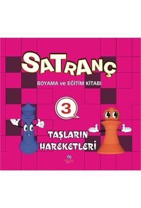 Satranç Boyama Kitabı 3-Kolektif