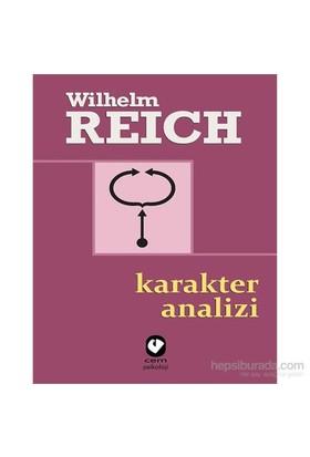 Karakter Analizi-Wilhelm Reich