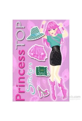 Princess Top Stickers - Lila-Kolektif
