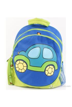 Umix My Little Car- Mavi Sırt Çantası