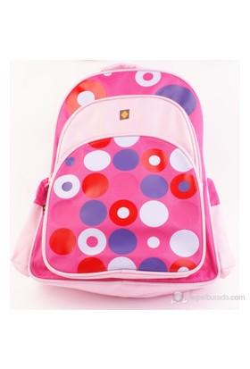 Umix My Retro Bag- Pembe Okul Çantası