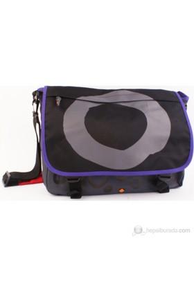 Umix My Zen- siyah/ gri postacı çantası