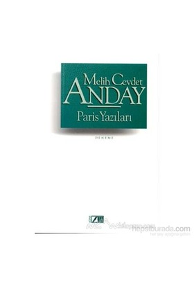 Paris Yazıları-Melih Cevdet Anday
