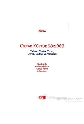 Ortak Kültür Sözlüğü-Yurdanur Salman