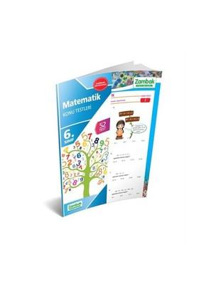 Zambak Yayınları 6.Sınıf Matematik Konu Testleri (Yaprak Test)