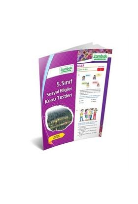 Zambak Yayınları 5.Sınıf Sosyal Bilgiler Konu Testleri (Yaprak Test)