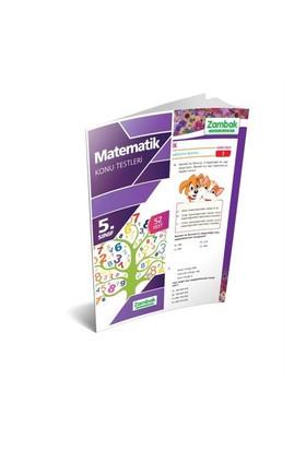 Zambak Yayınları 5.Sınıf Matematik Konu Testleri (Yaprak Test)