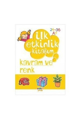 Erdem Yayınları İlk Etkinlik Kitabım Düşünme Becerileri Kavram-Renk-Kolektif