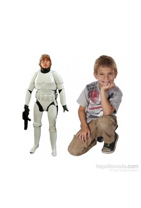 Star Wars Luke Skywalker Stormtrooper Dev Figür 80 Cm