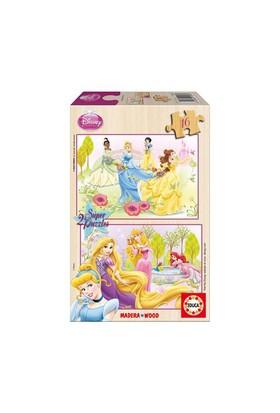 Educa Puzzle Çocuk 2X16 Parça Disney Prensesler