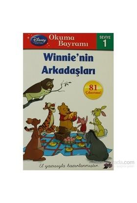 Winnie'Nin Arkadaşları - 81 Çıkartma ! El Yazısı İle Yazılmıştır!-Susan Amerikaner