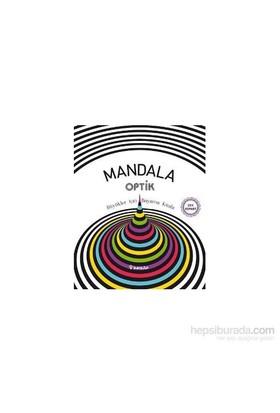 Mandala Optik: Büyükler İçin Boyama Kitabı-Kolektif