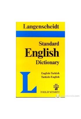 Langenscheid Standard English Dictionary English-Turkish Turkish-English-Resuhi Akdikmen