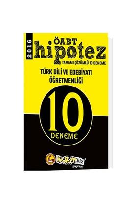 Kitapcim.Biz Yayınları Öabt 2016 Hipotez Türk Dili Ve Edebiyatı Öğretmenliği Çözümlü 10 Deneme