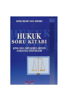 Hukuk Soru Kitabı-Kolektif