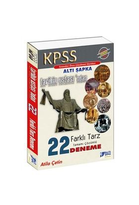 Altı Şapka Yayınları Kpss 2016 Tarihin Ustasından Tamamı Çözümlü 22 Farklı Tarz Deneme
