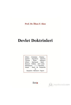 Devlet Doktrinleri-İlhan F. Akın
