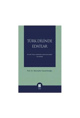 Türk Dilinde Edatlar-Necmettin Hacıeminoğlu