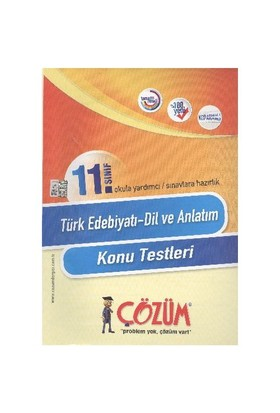 Çözüm 11. Sınıf Türk Edebiyatı (Dil ve Anlatım) K.T.