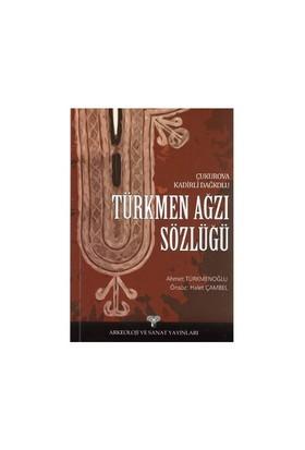 Türkmen Ağzı Sözlüğü-Ahmet Türkmenoğlu