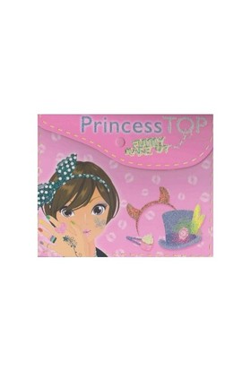 Princess Top Funny:Make Up Pembe-Kolektif