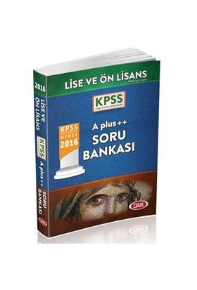 Data Kpss 2016 Lise Önlisans A Plus++ Soru Bankası
