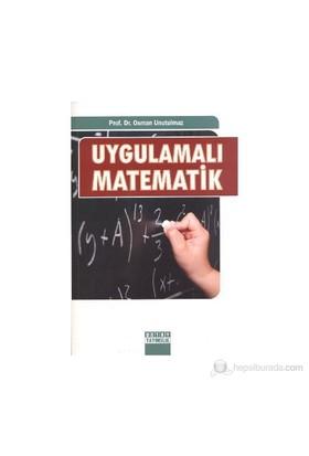 Uygulamalı Matematik-Osman Unutulmaz