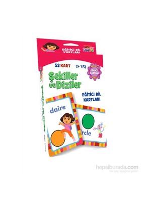 Dora Şekiller Ve Diziler (Eğitici Dil Kartları)-Kolektif