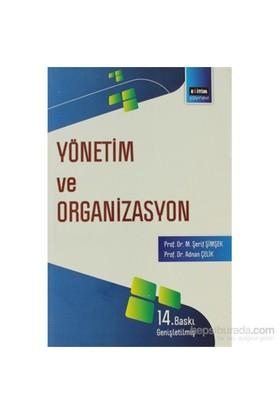 Yönetim Ve Organizasyon-M. Şerif Şimşek