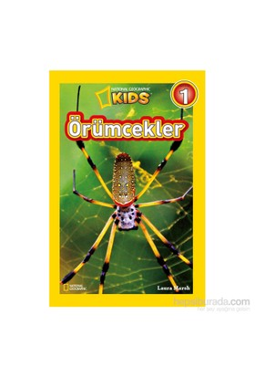National Geographic Kids: Örümcekler-Laura Marsh