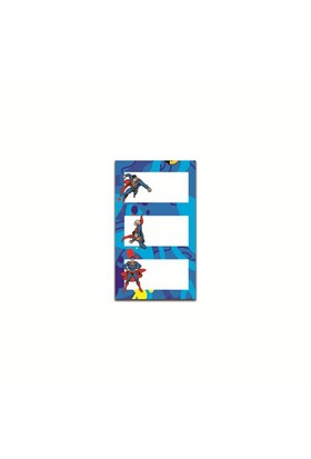Mynote Superman Okul Etiketi (8*3)24'Lü SM1400