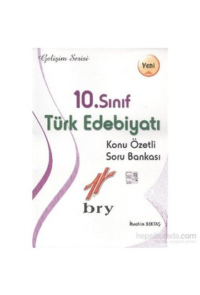 Birey Gelişim Serisi 10. Sınıf Türk Edebiyatı Konu Özetli Soru Bankası