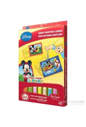 Mickey 4 Kum Boyama Kartları